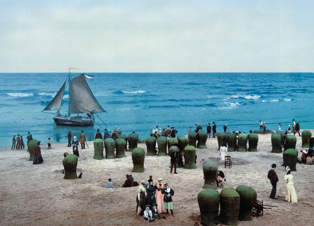Цветные открытки Нидерландов 1890-х годов 18