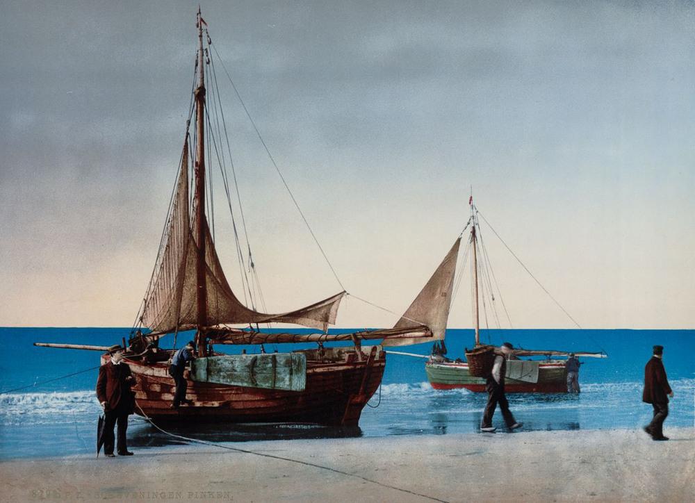 Цветные открытки Нидерландов 1890-х годов 19