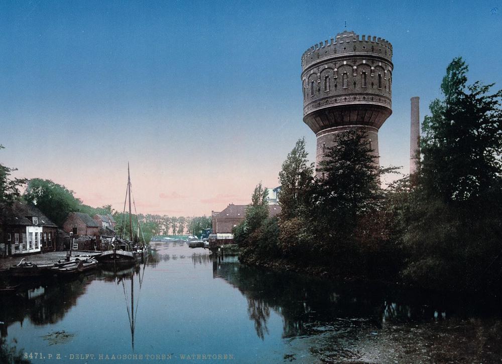 Цветные открытки Нидерландов 1890-х годов 27