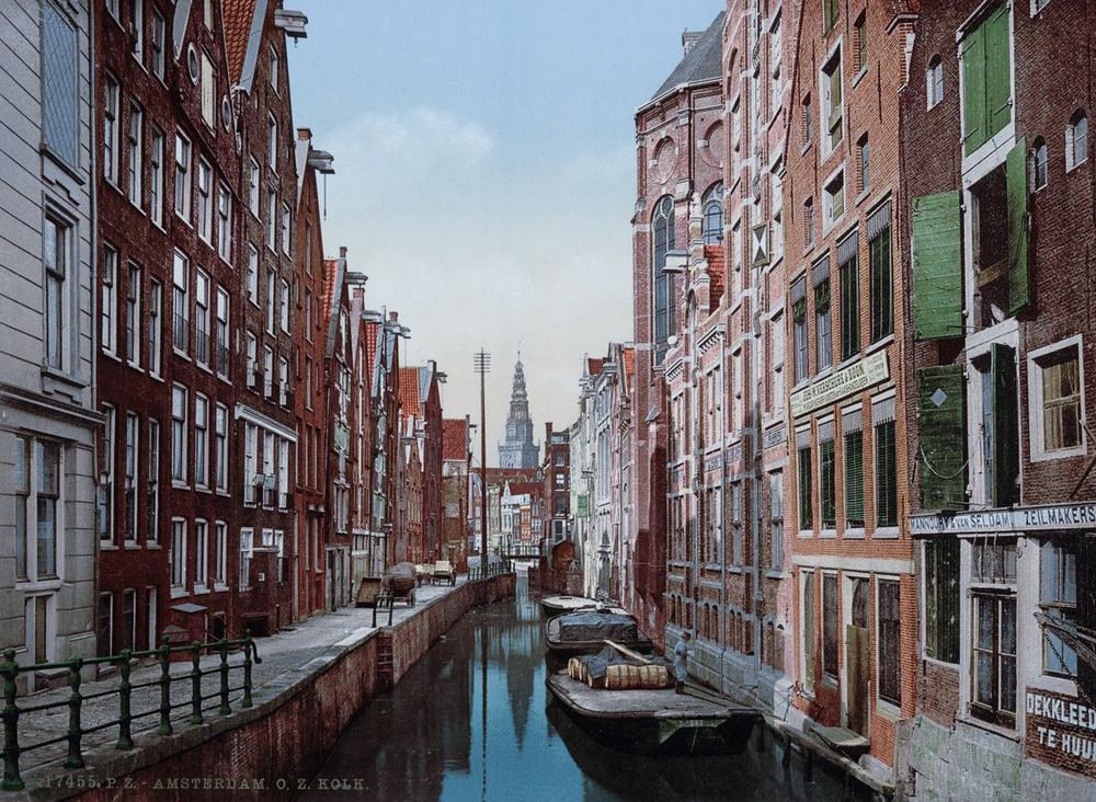 Цветные открытки Нидерландов 1890-х годов 3