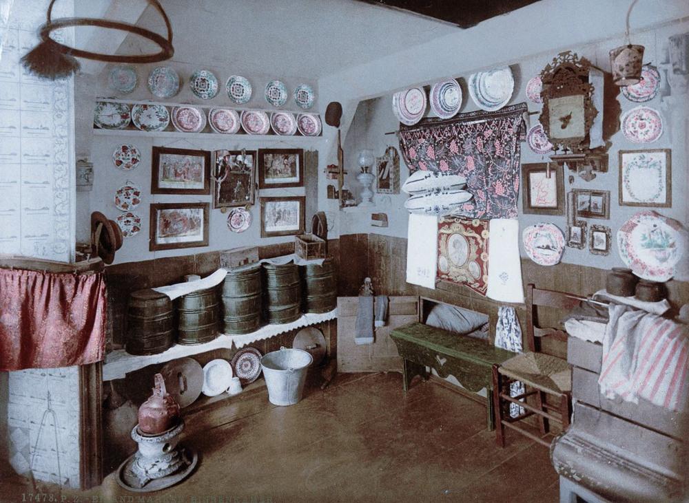 Цветные открытки Нидерландов 1890-х годов 30
