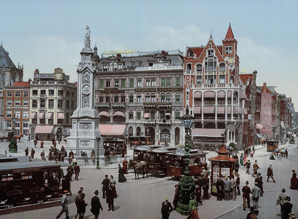 Цветные открытки Нидерландов 1890-х годов 32