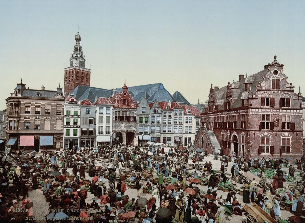 Цветные открытки Нидерландов 1890-х годов 4