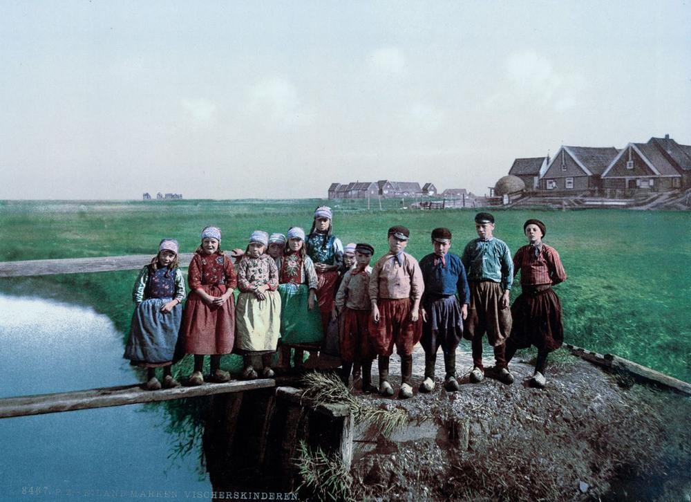 Цветные открытки Нидерландов 1890-х годов 5
