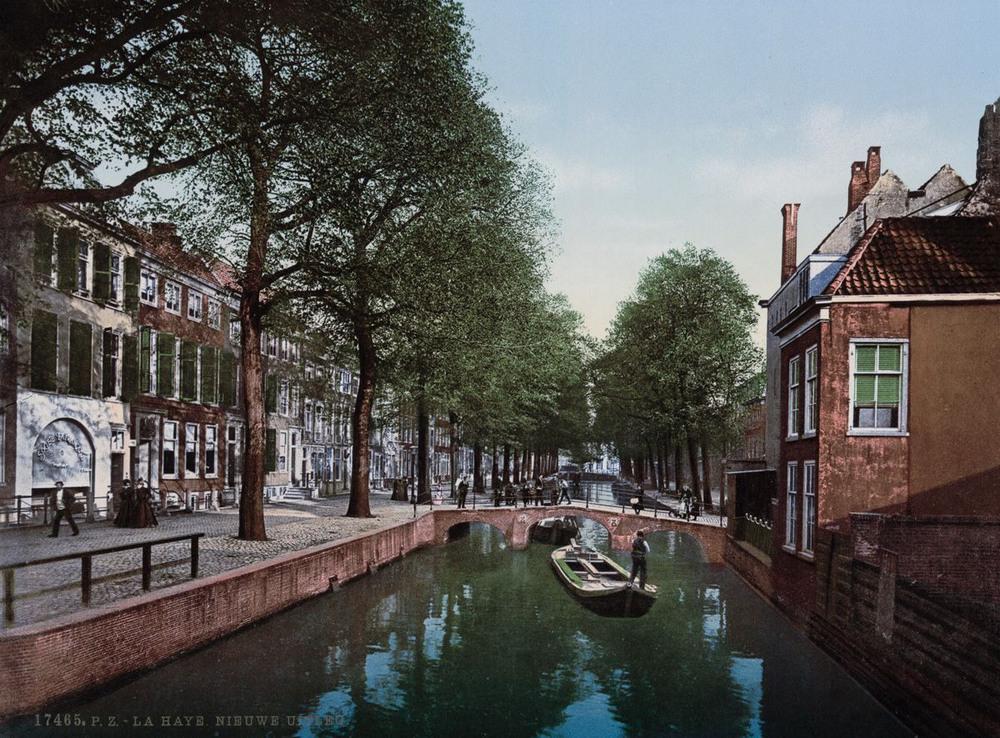Цветные открытки Нидерландов 1890-х годов 6