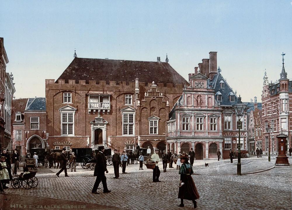 Цветные открытки Нидерландов 1890-х годов 7