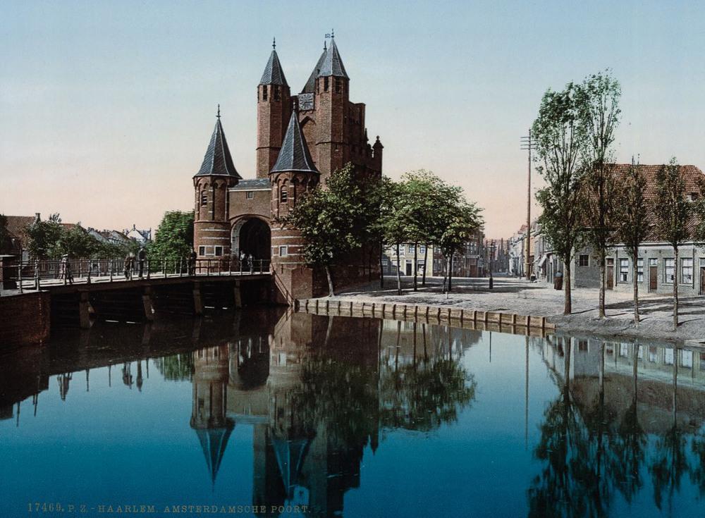 Цветные открытки Нидерландов 1890-х годов 8