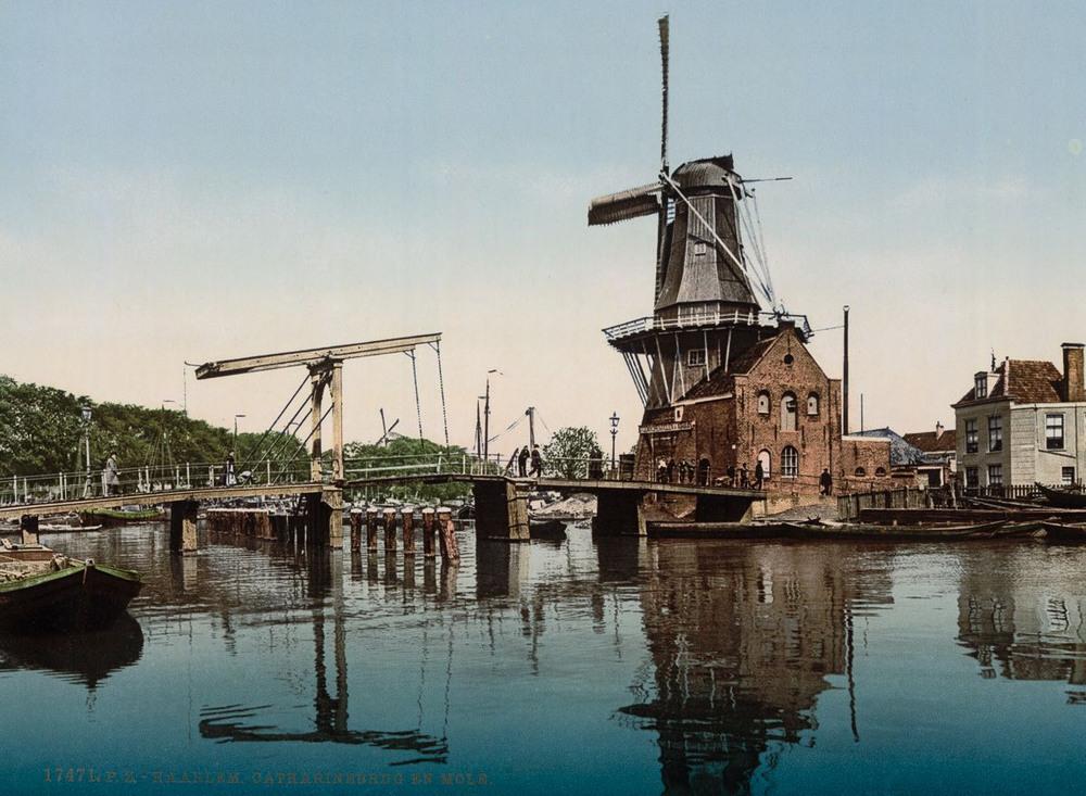 Цветные открытки Нидерландов 1890-х годов 9