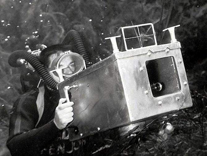 Пин-ап фотосессия 1938 года от пионера подводной фотографии Брюса Мозерта 1