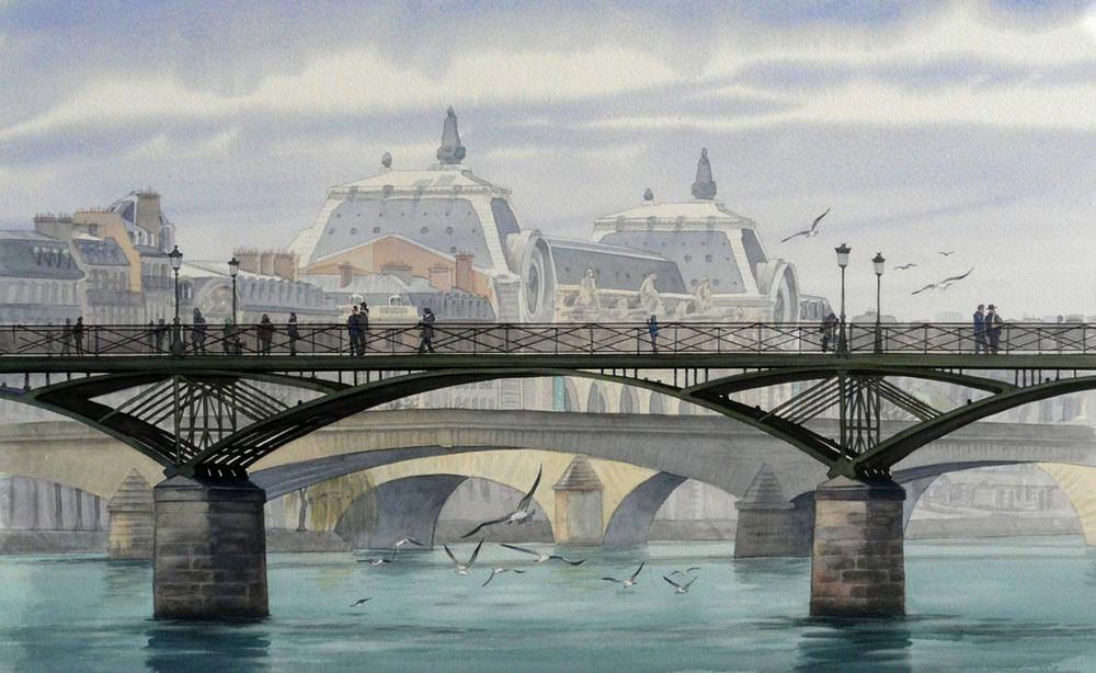 Акварельные картины Тьерри Дюваля 21