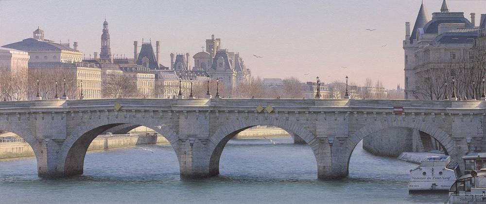 Акварельные картины Тьерри Дюваля 3