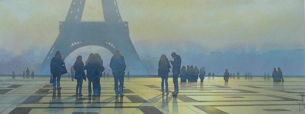 Акварельные картины Тьерри Дюваля 9
