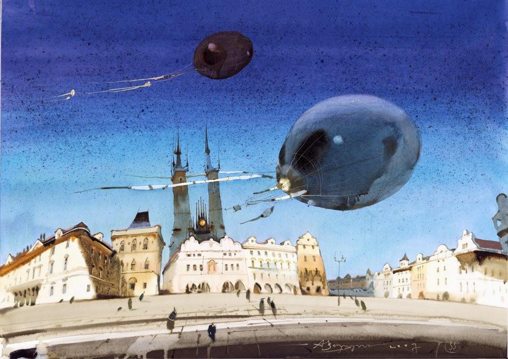 Акварельные картины Аруша Воцмуша 1