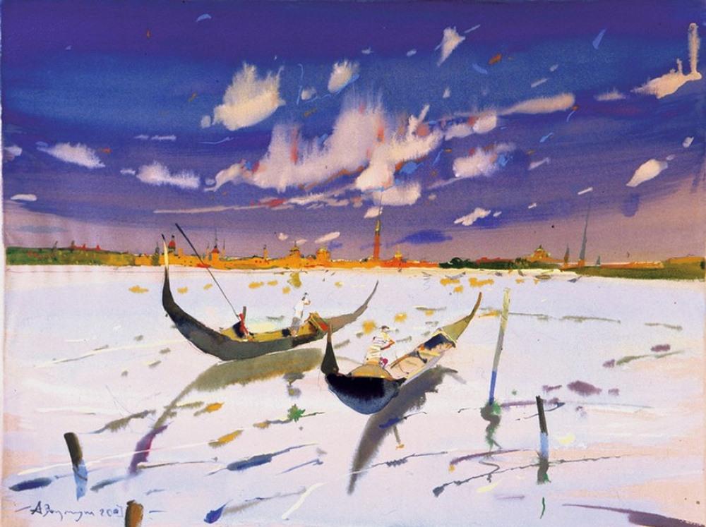 Акварельные картины Аруша Воцмуша 3