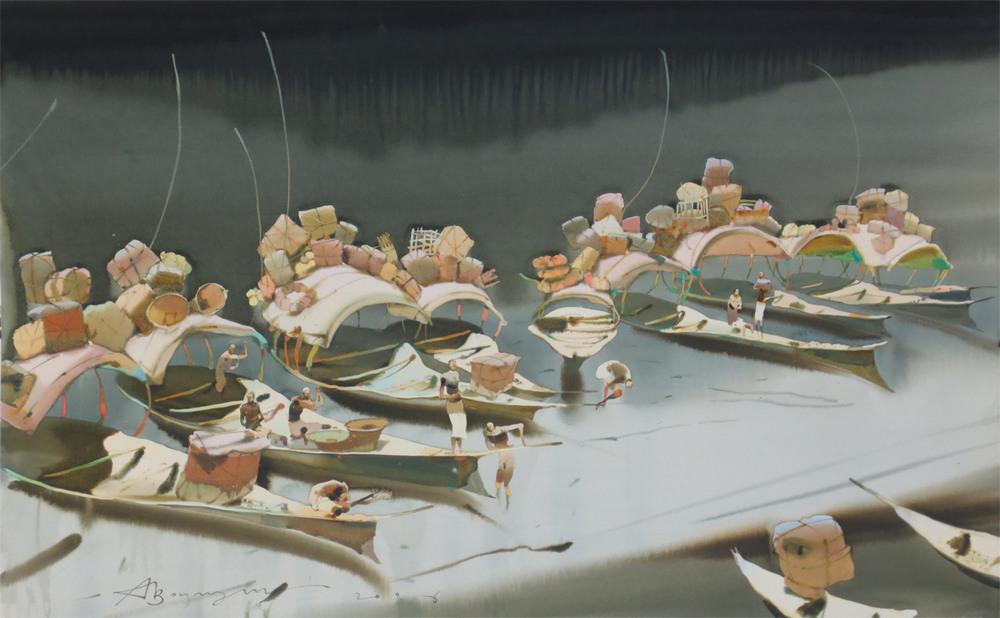 Акварельные картины Аруша Воцмуша 34