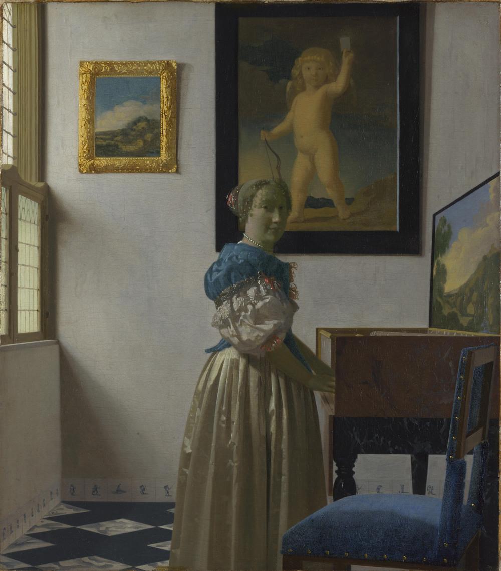 Все картины Яна Вермеера 17