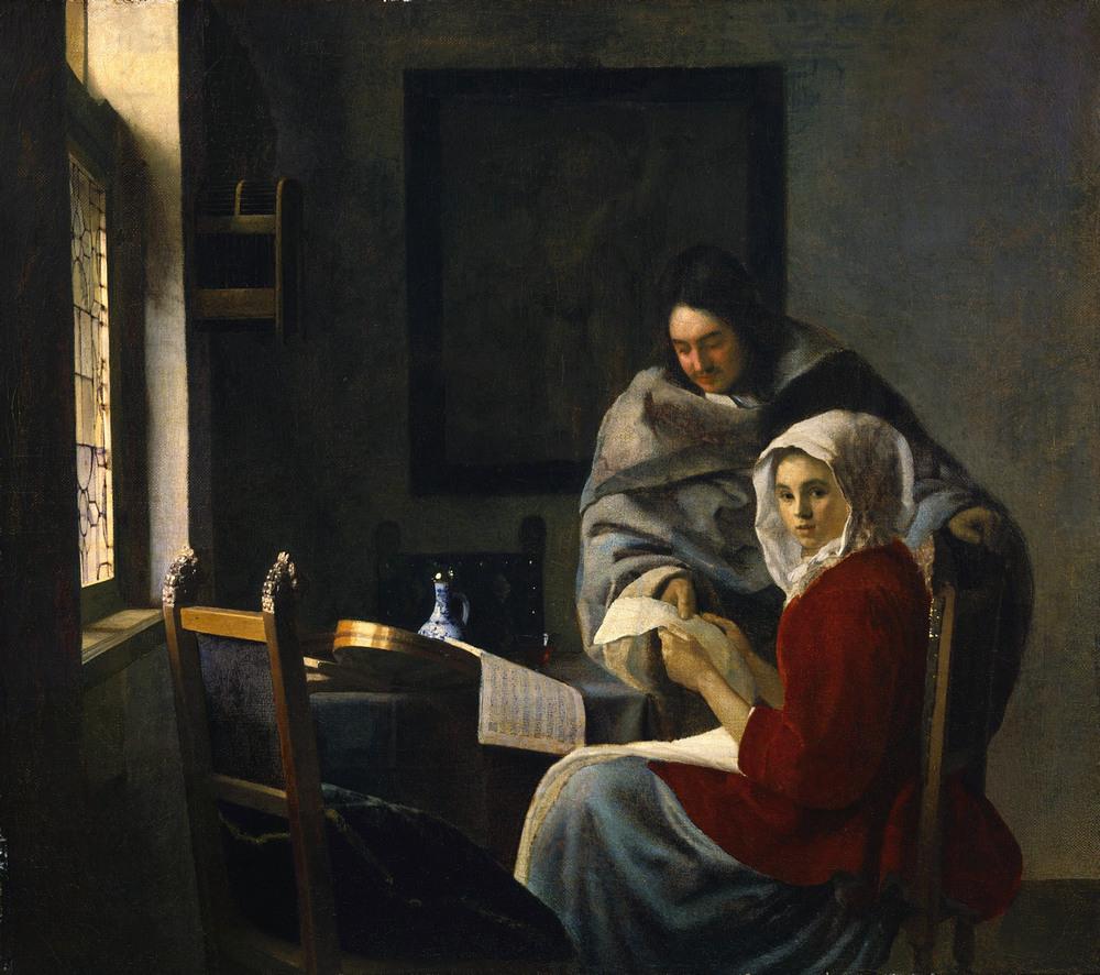 Все картины Яна Вермеера 27