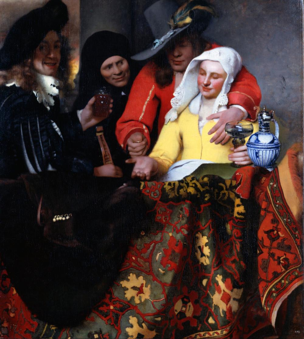 Все картины Яна Вермеера 31