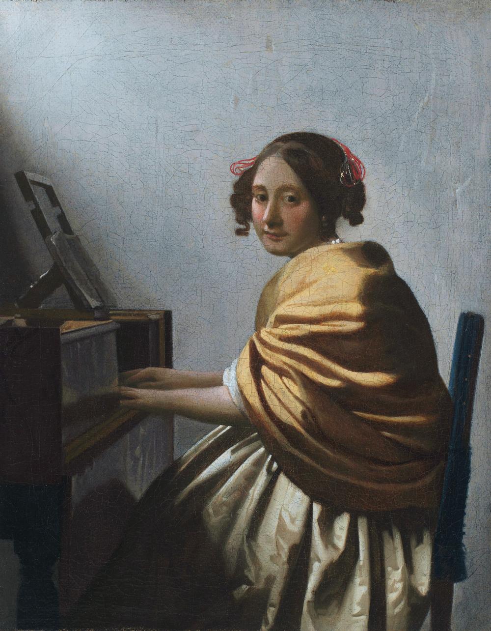 Все картины Яна Вермеера 36