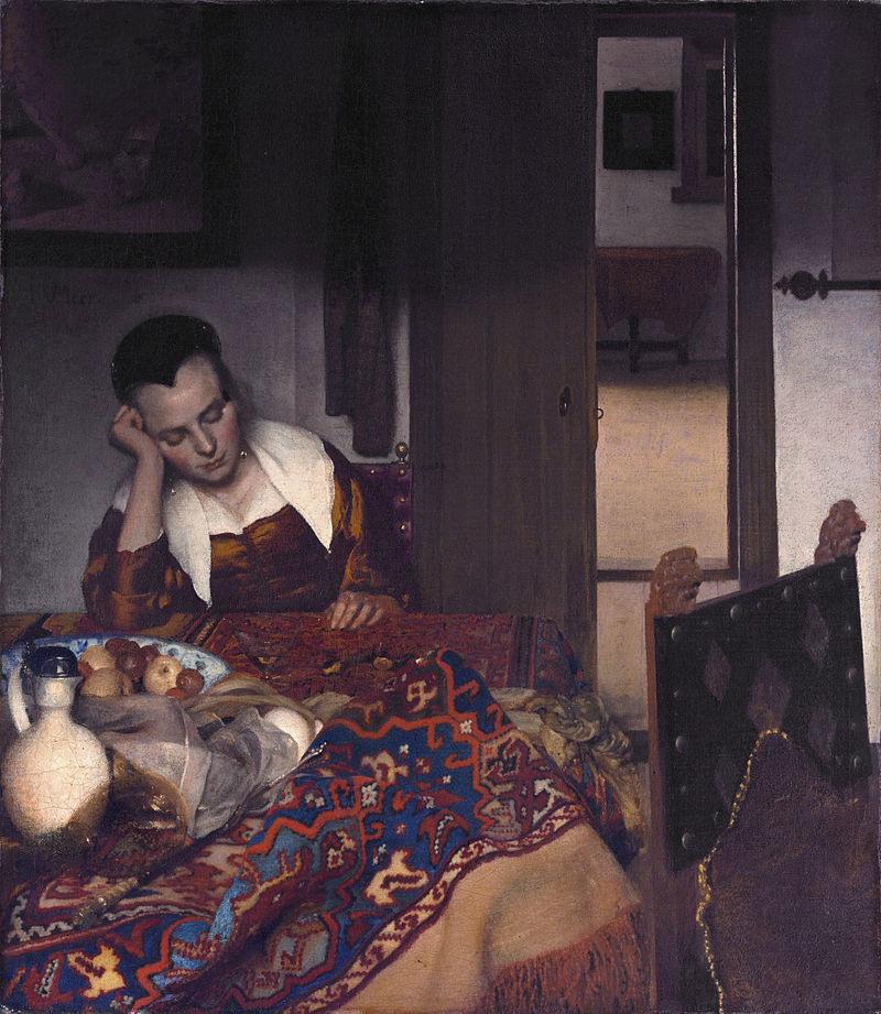 Все картины Яна Вермеера 6