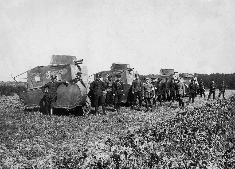 Резиновые танки: как хитрили на войне с не очень тяжёлой техникой. Фотографии 1918-1954 годов 5