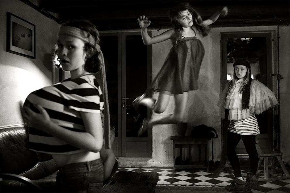Фотограф Ален Лебуаль. Беззаботные снимки детства 10