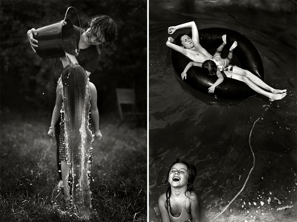 Фотограф Ален Лебуаль. Беззаботные снимки детства 14