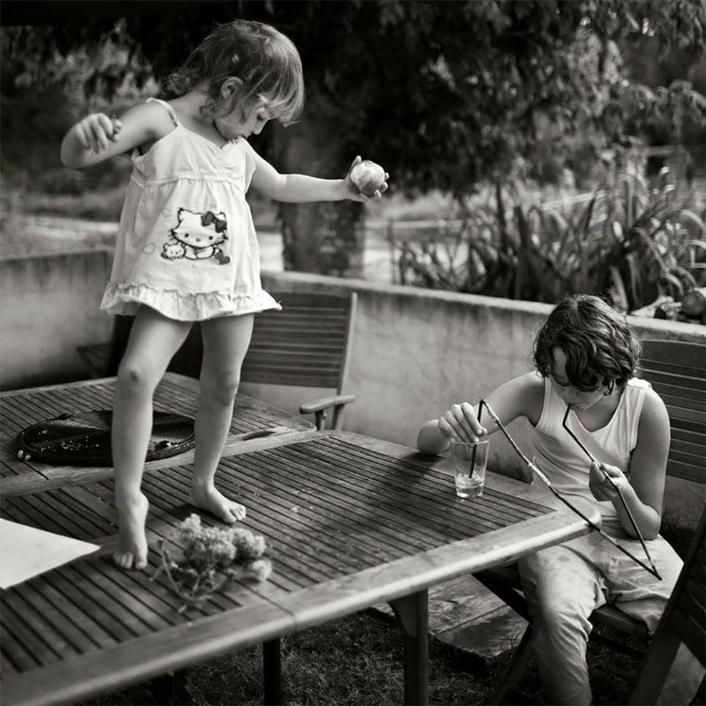 Фотограф Ален Лебуаль. Беззаботные снимки детства 15