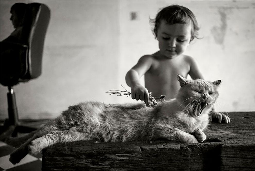 Фотограф Ален Лебуаль. Беззаботные снимки детства 2