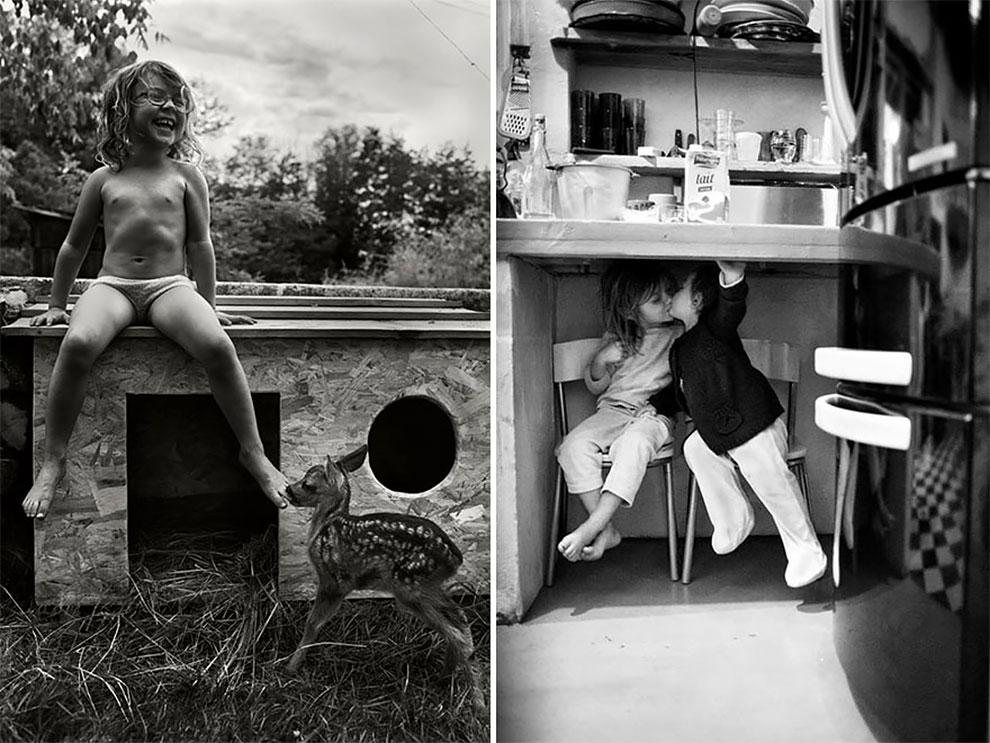Фотограф Ален Лебуаль. Беззаботные снимки детства 22