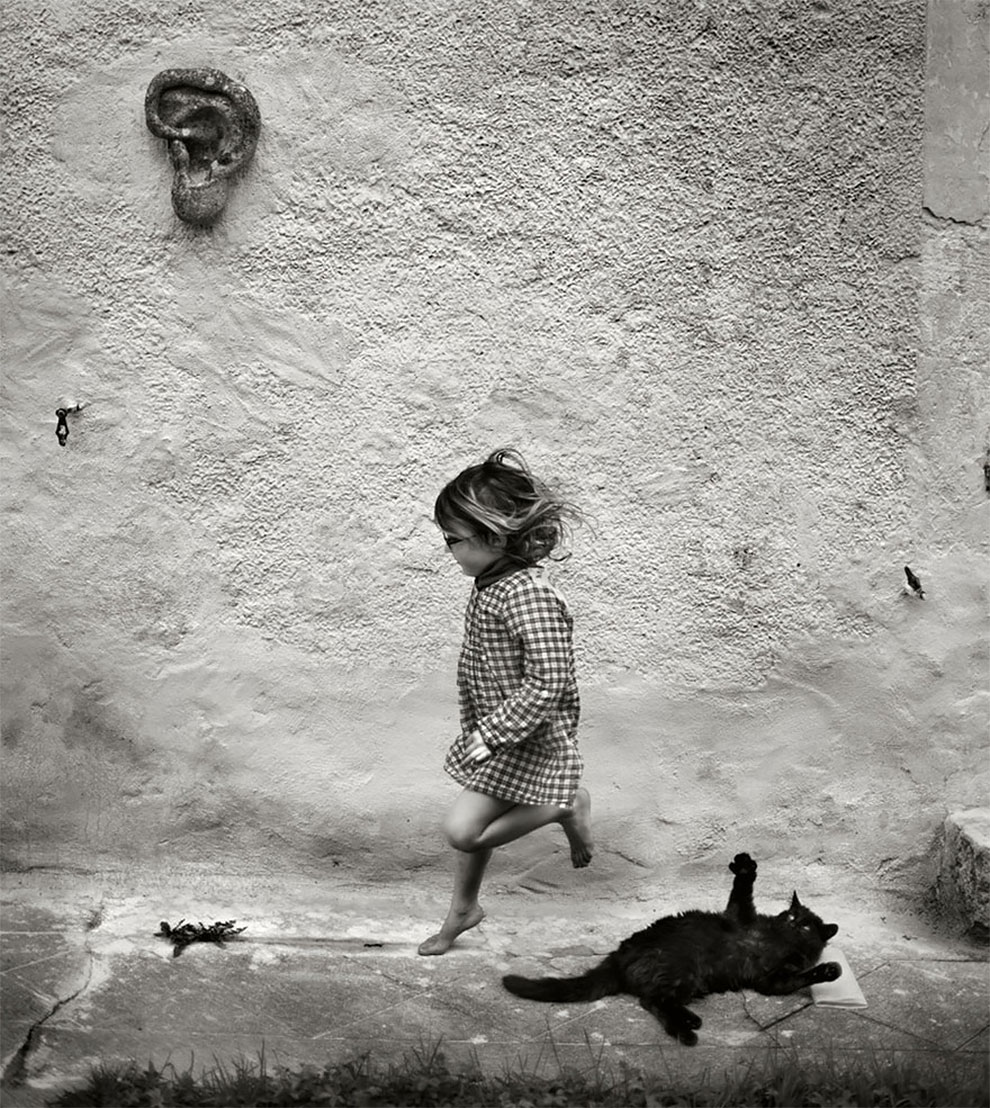 Фотограф Ален Лебуаль. Беззаботные снимки детства 24