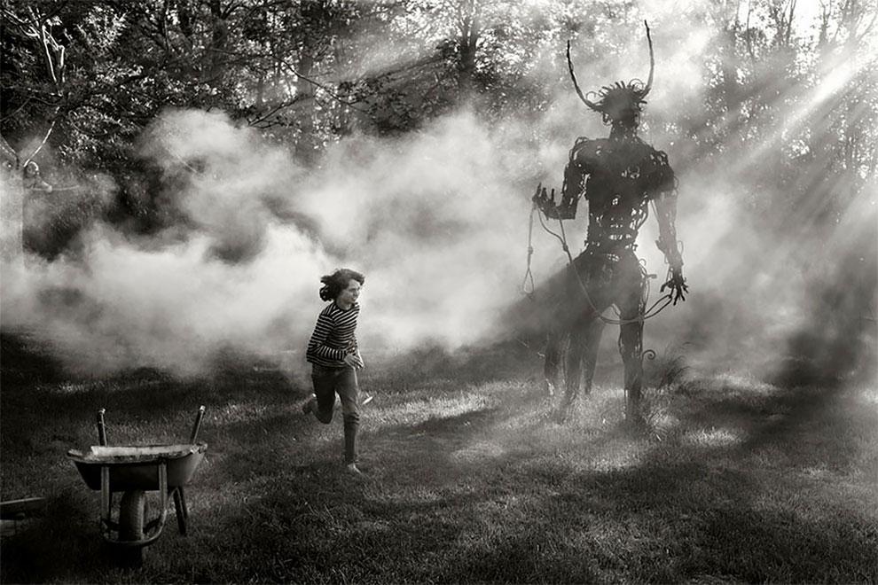 Фотограф Ален Лебуаль. Беззаботные снимки детства 27