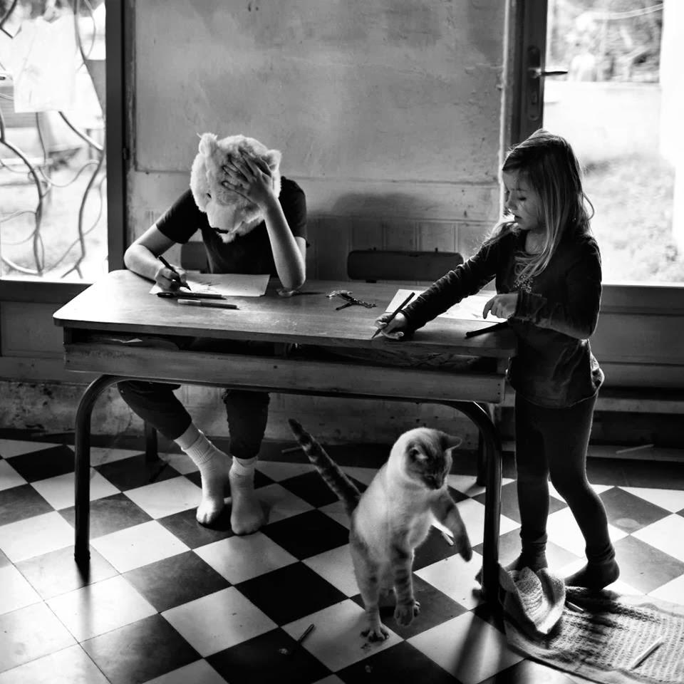 Фотограф Ален Лебуаль. Беззаботные снимки детства 35