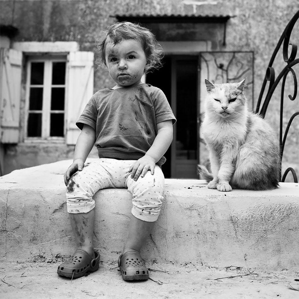 Фотограф Ален Лебуаль. Беззаботные снимки детства 4