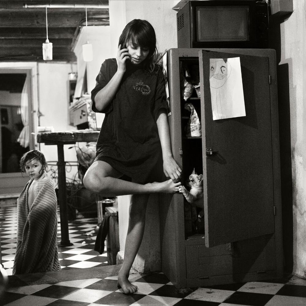 Фотограф Ален Лебуаль. Беззаботные снимки детства 44