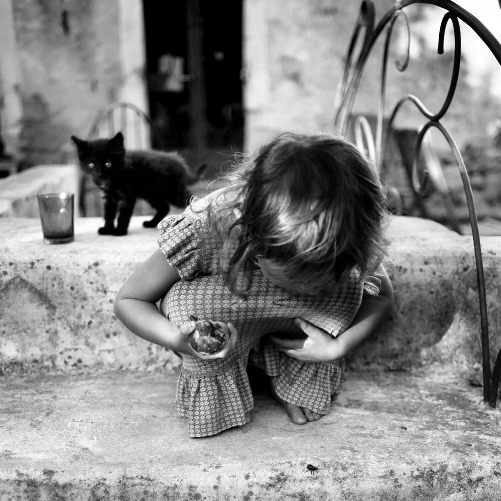 Фотограф Ален Лебуаль. Беззаботные снимки детства 49