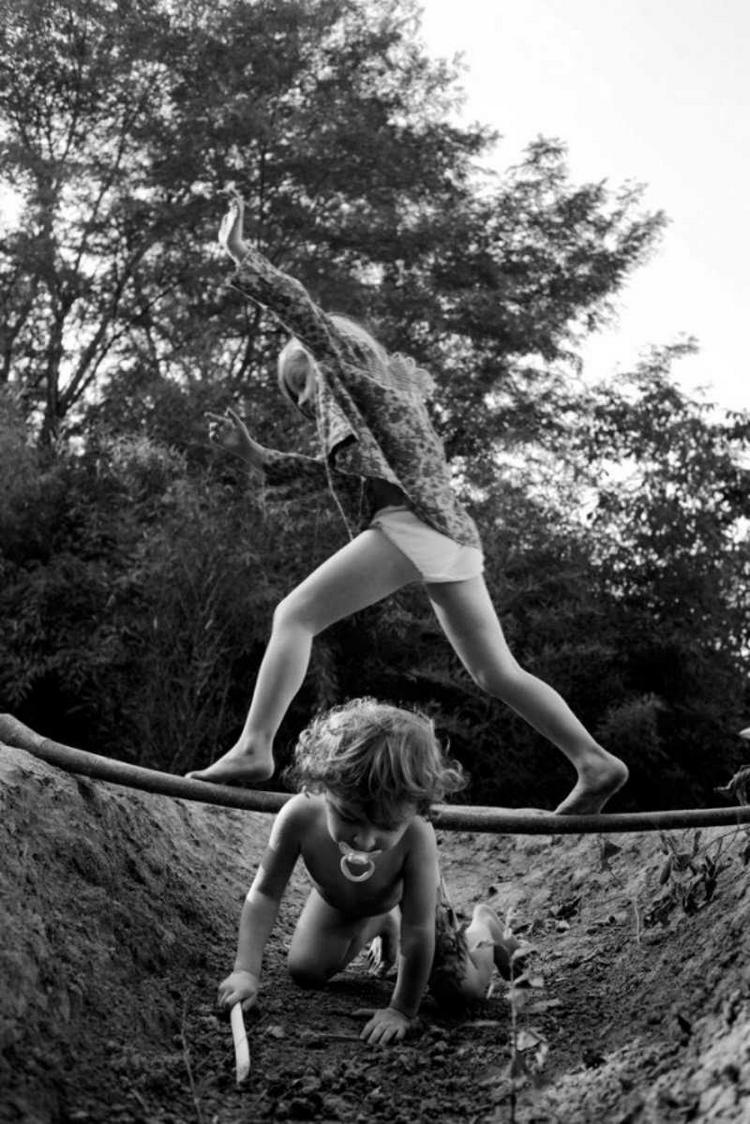 Фотограф Ален Лебуаль. Беззаботные снимки детства 52