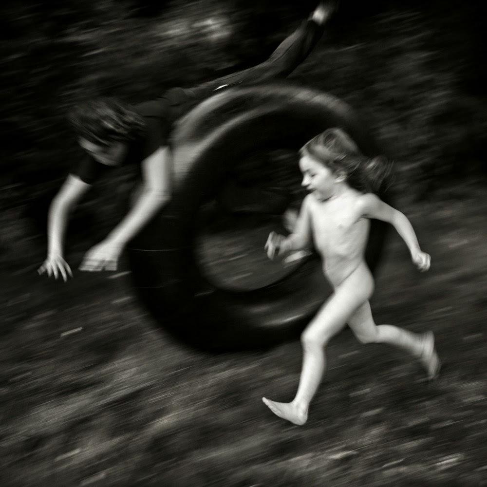 Фотограф Ален Лебуаль. Беззаботные снимки детства 6