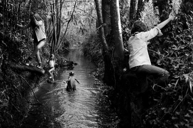 Фотограф Ален Лебуаль. Беззаботные снимки детства 9
