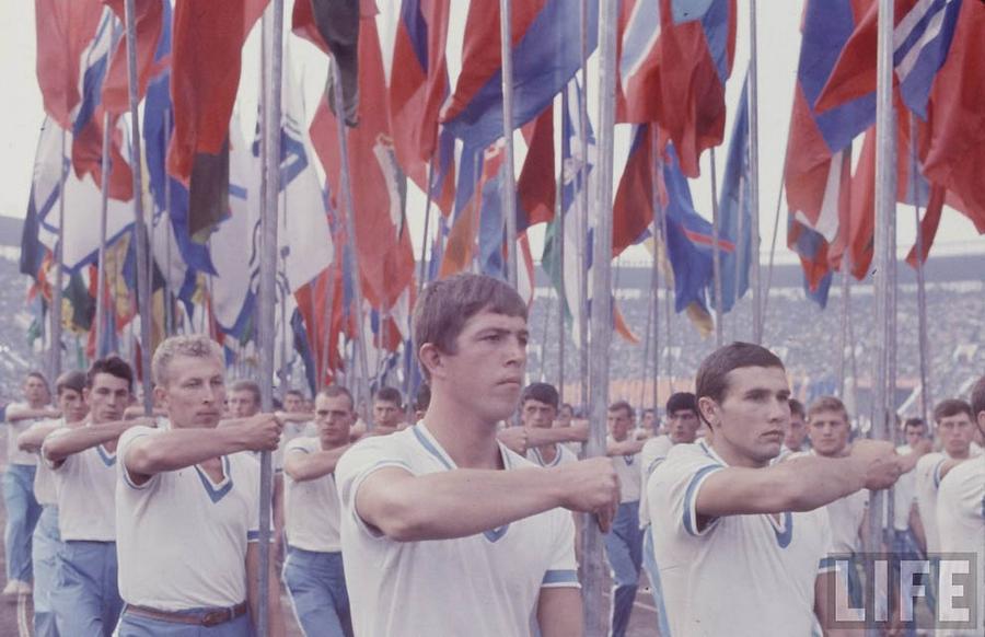 Как жила советская молодёжь в 1967 году. Снимал американский фотограф Билл Эппридж  5