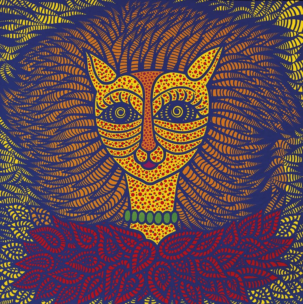 Яёи Кусама – 88-летняя художница, страдающая психическими расстройствами, продаёт картины за миллионы долларов  16