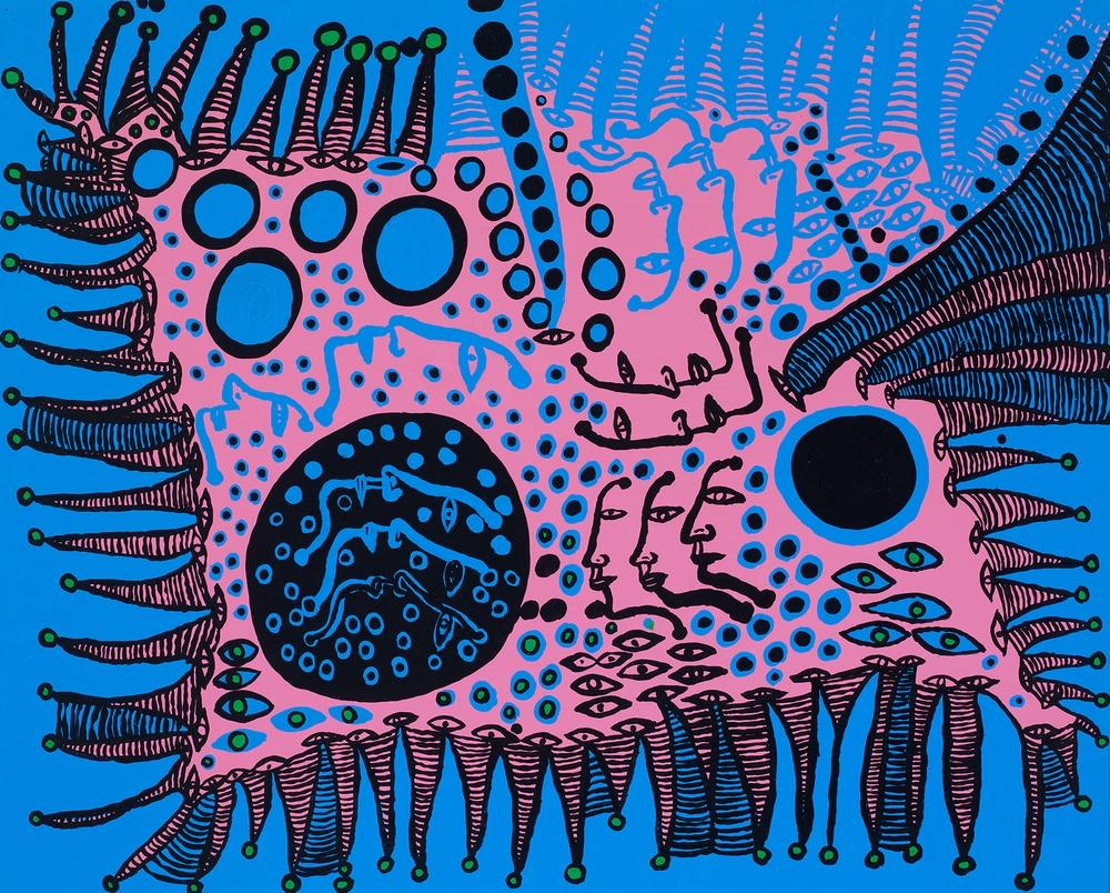 Яёи Кусама – 88-летняя художница, страдающая психическими расстройствами, продаёт картины за миллионы долларов  17