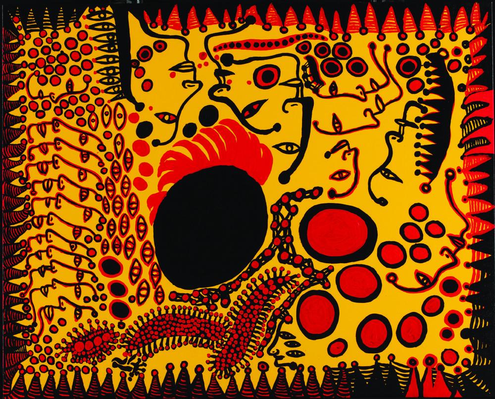 Яёи Кусама – 88-летняя художница, страдающая психическими расстройствами, продаёт картины за миллионы долларов  18