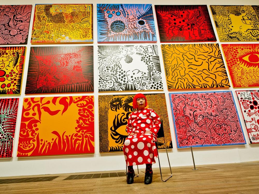 Яёи Кусама – 88-летняя художница, страдающая психическими расстройствами, продаёт картины за миллионы долларов  4