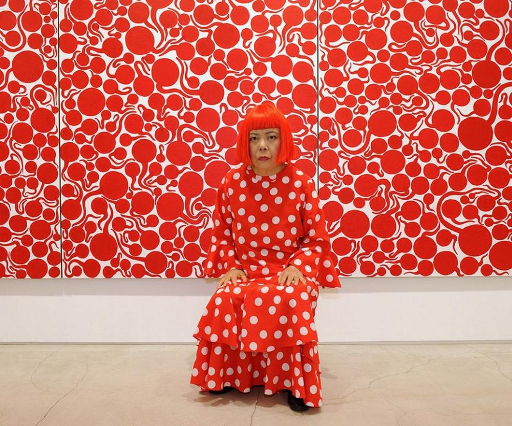 Яёи Кусама – 88-летняя художница, страдающая психическими расстройствами, продаёт картины за миллионы долларов  7