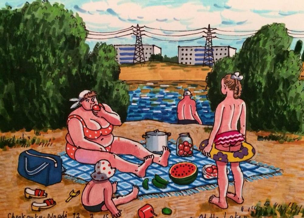 Где-то на Зеленых озерах в Вильнюсе?