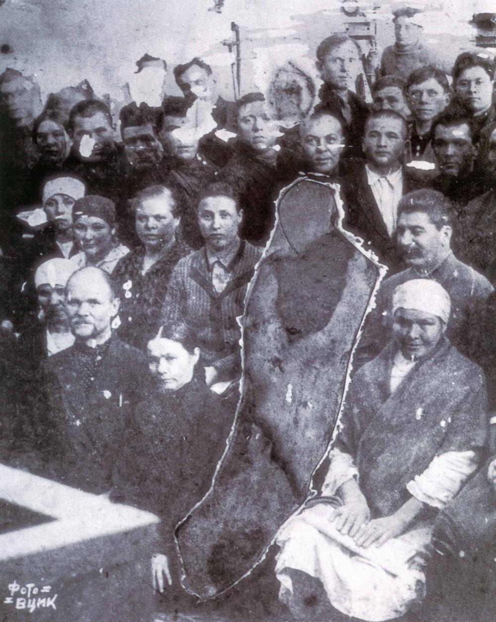 fotoshop v stalinskuyu epohu 11