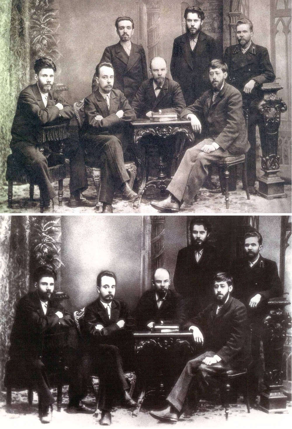 fotoshop v stalinskuyu epohu 2