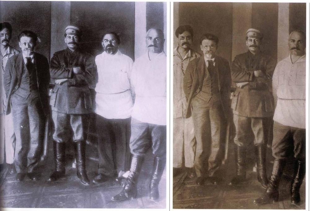 fotoshop v stalinskuyu epohu 3