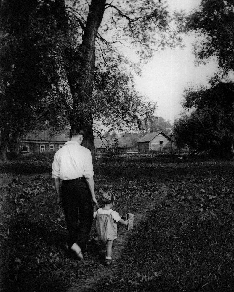 Арсений Тарковский с сыном